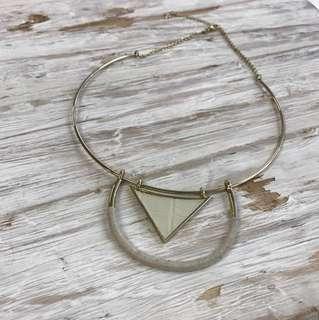 Sunfox , necklace white
