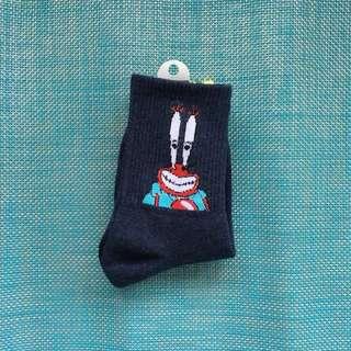 🚚 #全新 蟹老闆 腳踝 襪子 正版