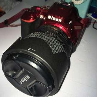 NIKON D5500 with 18-105mm lens