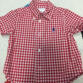 Authentic Ralph Lauren Baby Shirt