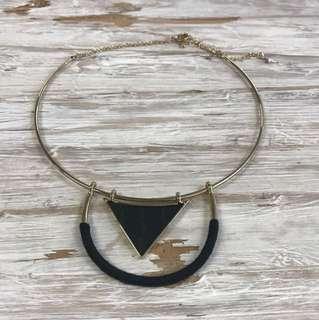 Sunfox Necklace, Black