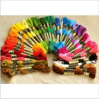 100pcs clearance brand new cross stitch threads