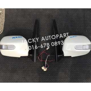 Side mirror Autoflip Signal Toyota Estima ACR30 Jp