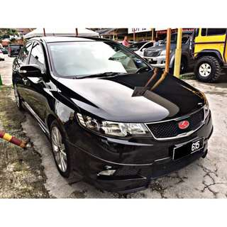 NAZA FORTE 1.6 SX (A) LEATHER SEAT/REVERSE CAM/4 DISC BRAKE/FULL BODYKITS 2010