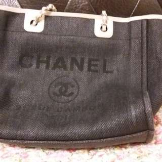Chanel 黑色布袋