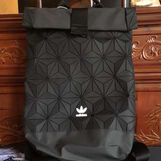 In stock brand new with tag Adidas X Issey Miyake 3D Roll up bag
