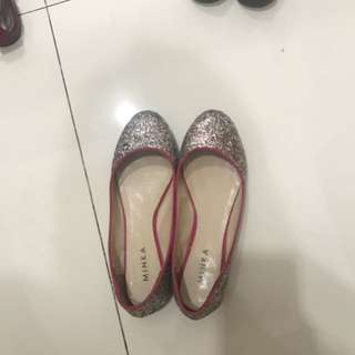 Minka glitter shoes