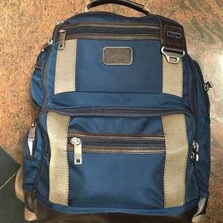 Tad bagpack biru nylon TM