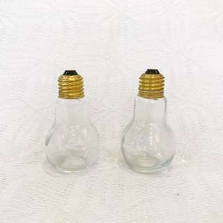 Salt and Pepper Light Bulb Shakers