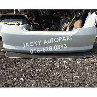 Rear Bumper Putih Honda City Fit Aria GD8 Japan
