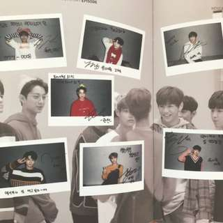 Wanna One Mexicana Chicken Episode Book