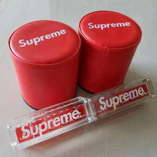 Brand new in stock Supreme dice game set