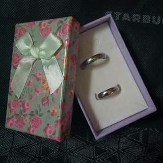 Couple ring stainless