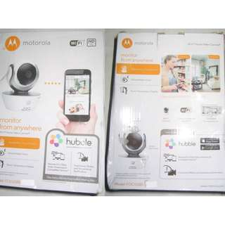 Motorola Focus 85 IP WiFi Cam . Use Hubble app to set up and view