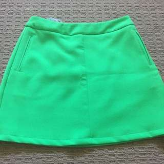 Sheike Green Fitted Skirt #15FLASHSALE