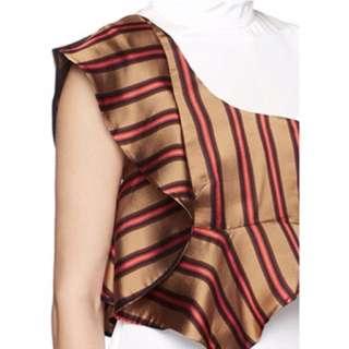 3.1 Philip Lim cascading silk sleeveless top