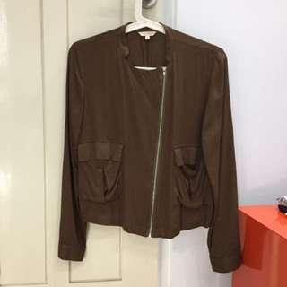 Et Cetera military jacket, size 4/S-M