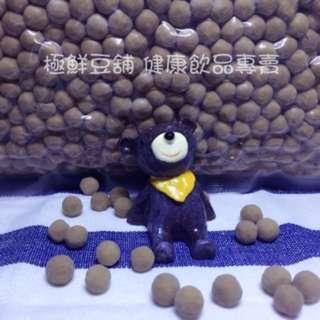 極鮮豆舖 黑珍珠粉圓 3公斤大包裝  黑糖珍珠 粉圓 黑糖大珍珠 真空包裝 HACCP  ISO22000 樹薯 台灣