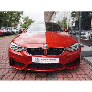 BMW M Series M4 Coupe Auto 3.0