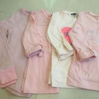 Gapkids girls 3/4 sleeve top
