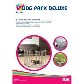 Savic Dog Park Deluxe Playpen 6 Panels