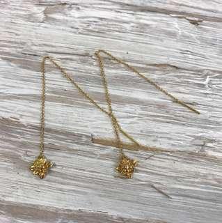 Lazurah , flower earring