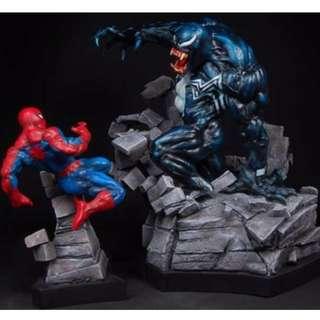 Bowen Spider-man Vs Venom Statue (Not XM Sideshow)