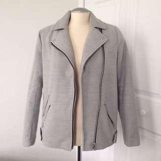 F21 grey coat