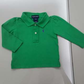 Ralph Lauren Polo Shirt (9-12months)