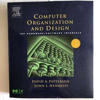 Computer Organization and Design (3rd Edition)