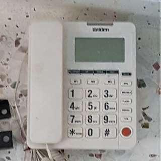 Used white phone