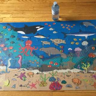 Large puzzle under the sea -$12