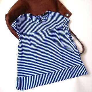 Zara Woman Striped Top