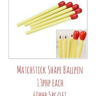 Matchstick Shape Pen