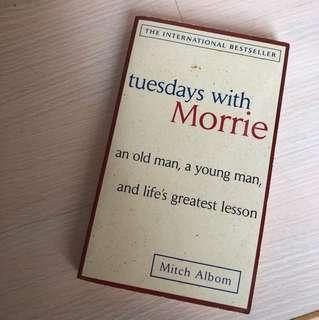 🚚 原文書| 星期二的最後十四堂課 TUESDAY WITH MORRIE- Mitch Albom