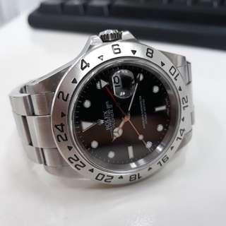 Rolex Explorer II 16570 Y Series