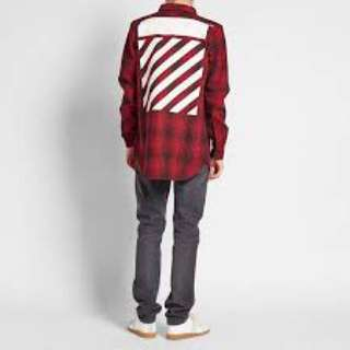 Off-white Button Up
