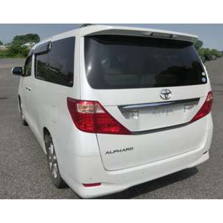 Alphard 2.4 for rent