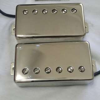 SEYMOUR DUNCAN SH-2 JAZZ MODEL (NECK) & SH-4 JB (BRIDGE) - NICKEL