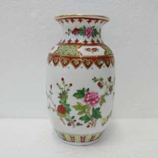 牡丹花瓶 瓷