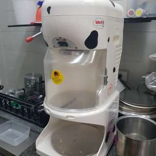 Korean Bingsu machine