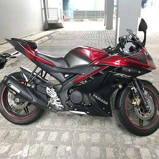 Chrome red R15 V2