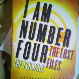 I Am Number Four. The Lost Files: The Legacies Autographed / Signed by Pittacus Lore