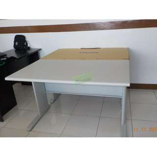 HV TABLE SET OFFICE TABLE WITH CABINET--KHOMI