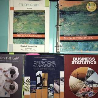 RYERSON BUSINESS MANAGEMENT TEXTBOOKS