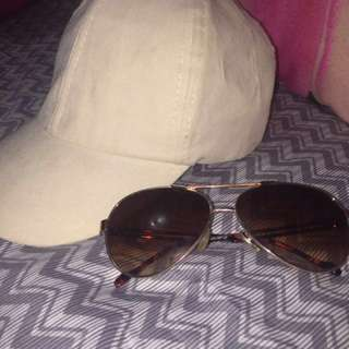 FREE hat & shades with purchase