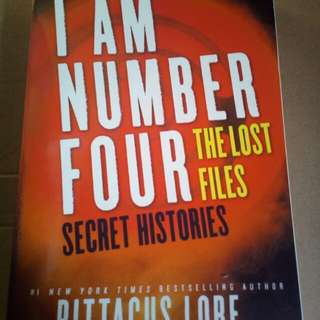 I Am Number Four. The Lost Files: Secret Histories Autographed / Signed by Pittacus Lore