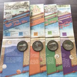 "Singapore 2007 ""Rustic Coast"" Cu-Ni Proof-Like Coin Set"