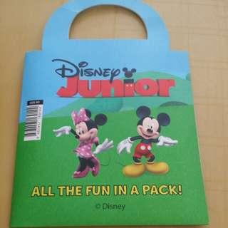 Disney mickey mouse all the fun in a pack!