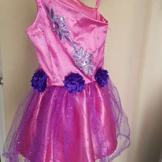 Pink mini gown